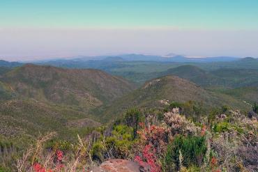 Aussicht in das Tiefland des Kilimanjaro