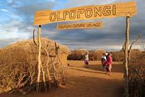Olpopongi Maasai Dorf