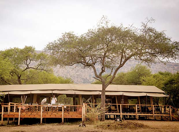 Dunia Tented camp Tansania