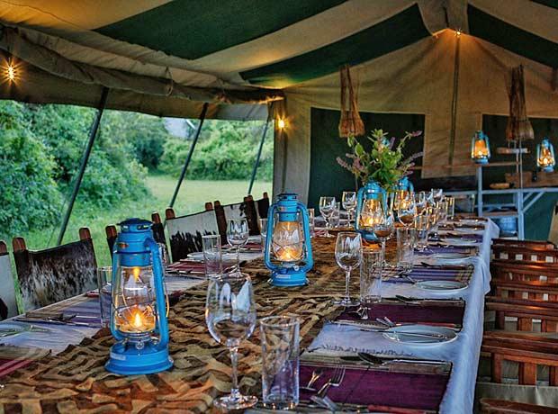 Pakulala Tented camp Tanzania