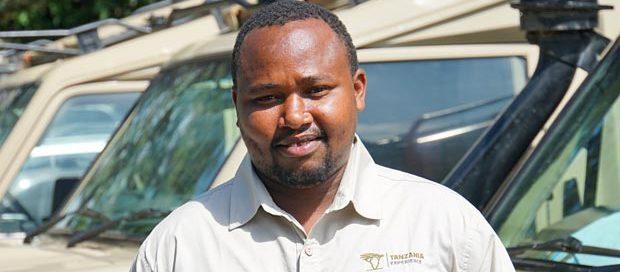 Safari guide Max in Tansania