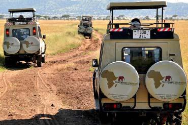 Tanzania Experience vehicles