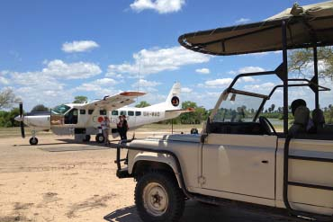 Safari Pick up airstrip