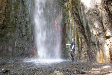 Mount Meru - Waterfall