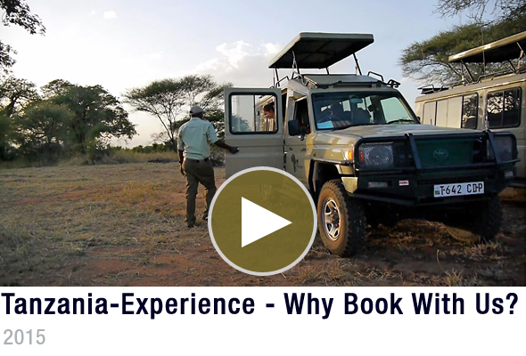 Tanzania-Experience Why Book With Us? Video