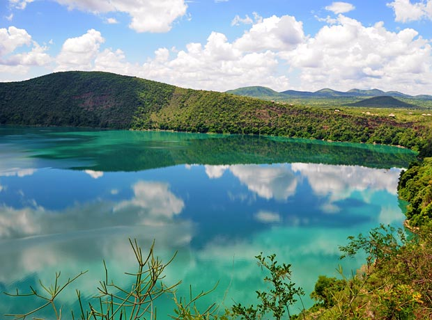 Lake Chala - a crater in the shadow of Kili | Tanzania-Experience