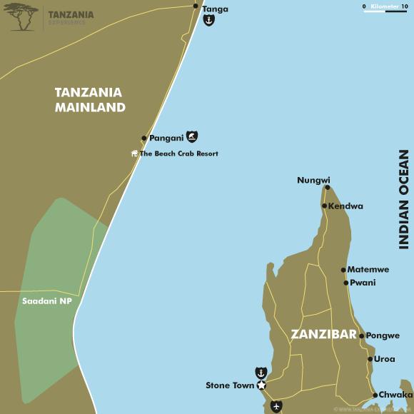 Mainland map