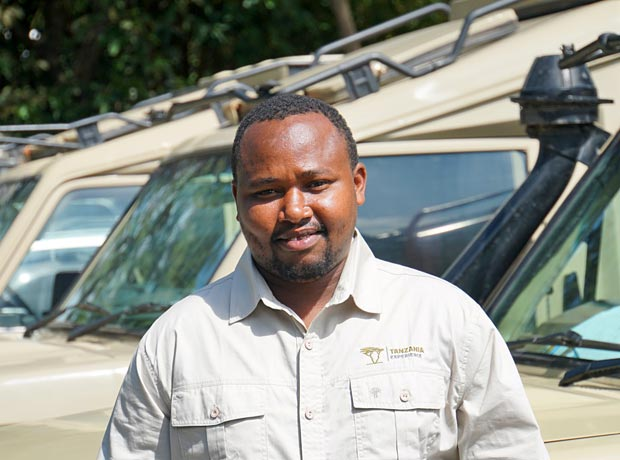Safari guide Max in Tanzania