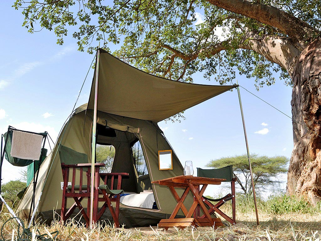 The private c&sites & Safari Equipment for Mobile Explorer Camping